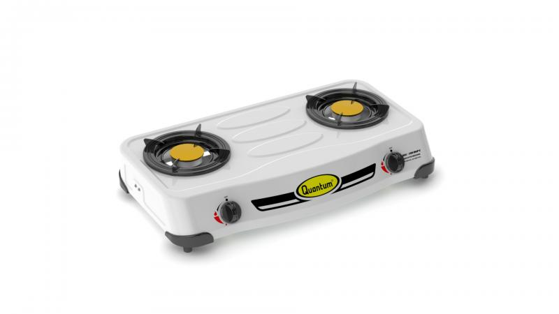 Two burner gas stove QGC-201DMP